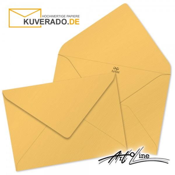 Artoz Artoline Briefumschlag in sandgold-orange DIN B6