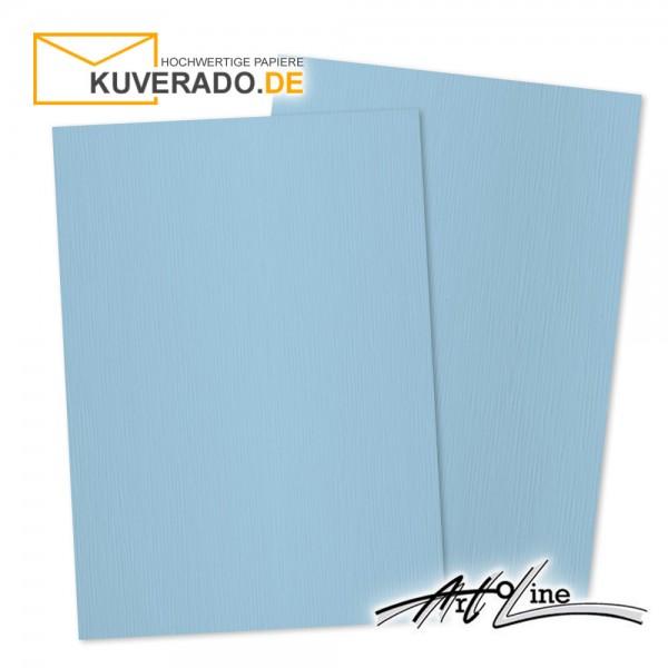 Artoz Artoline Briefpapier/Tonkarton in sky-blau DIN A4