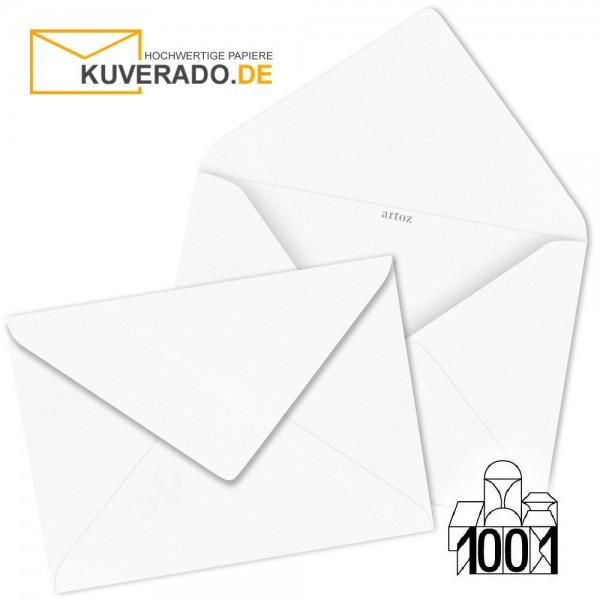 Artoz 1001 Briefumschläge Blütenweiß 75x110 mm