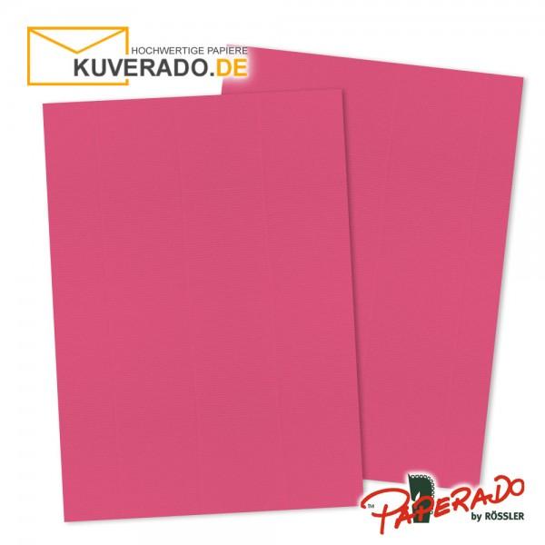 Paperado Briefpapier in fuchsia rosa DIN A4 100 g/qm