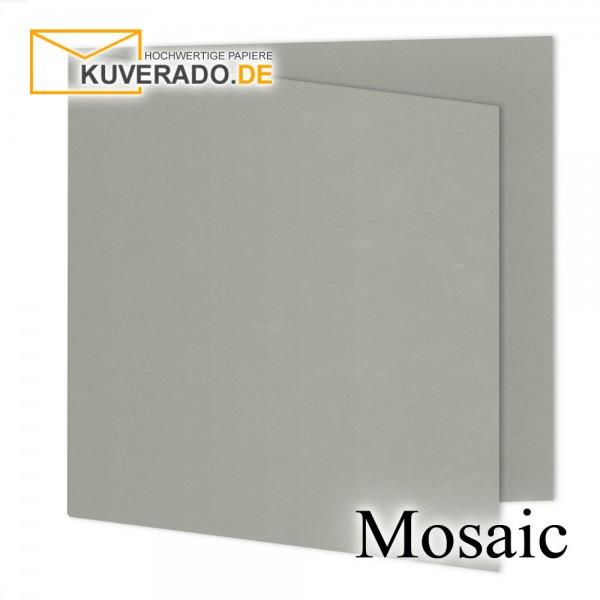 Artoz Mosaic zementgraue Doppelkarten quadratisch