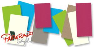 Einlegekarten der Marke PAPERADO Style