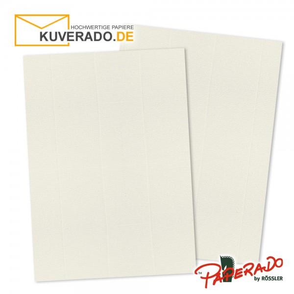 Paperado Briefpapier in ivory beige DIN A4 160 g/qm