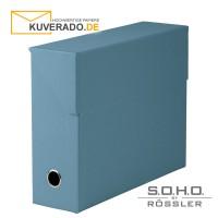 """S.O.H.O. Archivbox in der Farbe """"denim"""""""