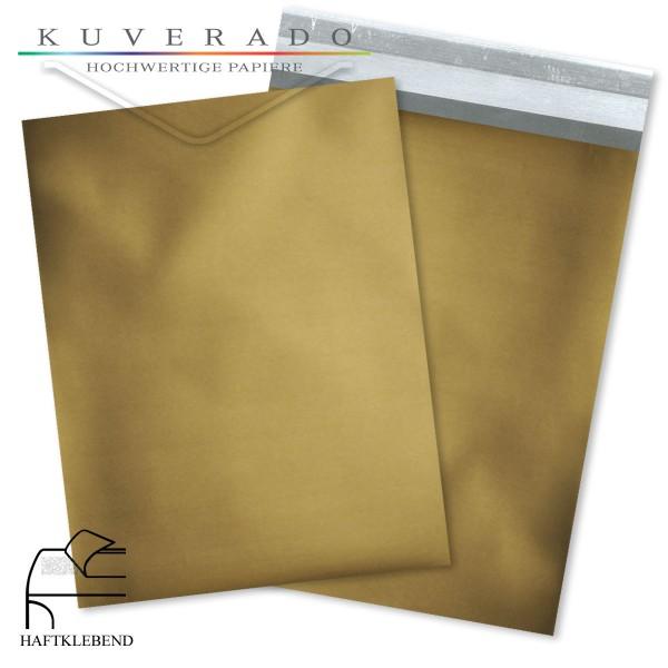 Goldene Folienumschläge metallic DIN C6