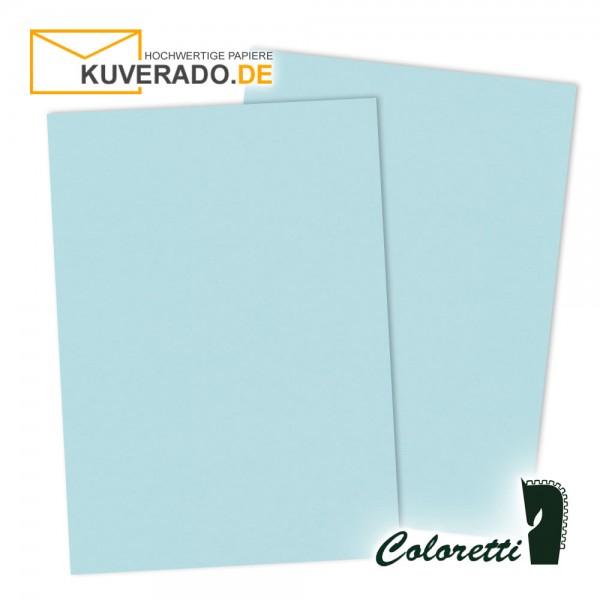 Blaues Briefpapier in himmelblau 165 g/qm von Coloretti
