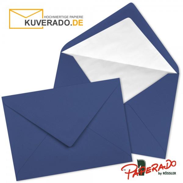 Paperado Briefumschläge in jeansblau DIN B6