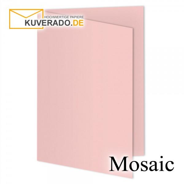 Artoz Mosaic rosa Doppelkarten DIN A5
