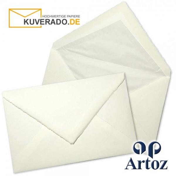 ARTOZ Rondo - Briefumschläge aus Büttenpapier im Format 120x180 mm mit Seidenfutter