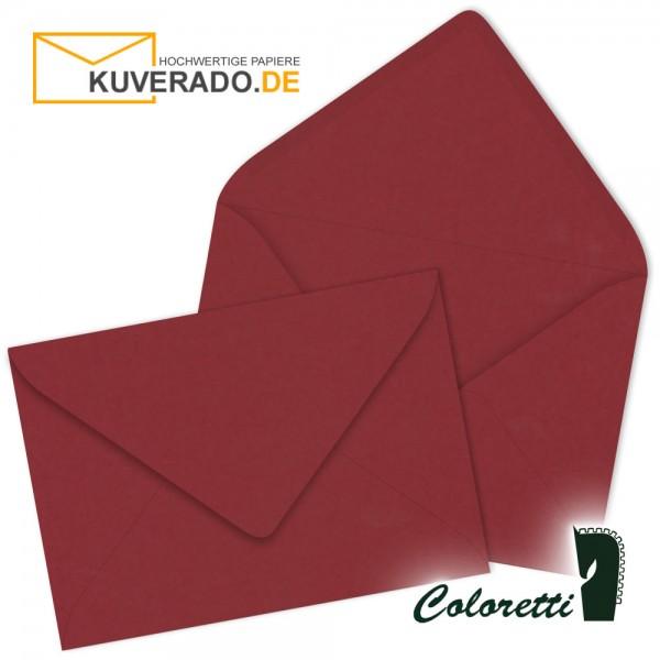 Rote DIN C6 Briefumschläge in rosso von Coloretti
