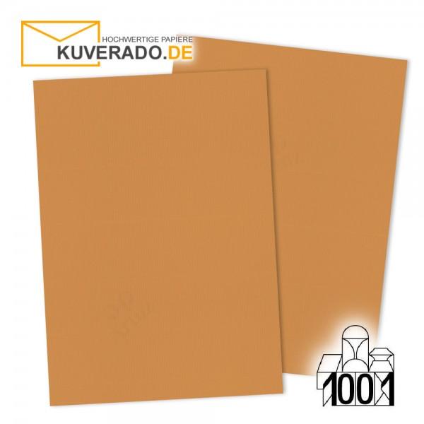 Artoz Briefpapier malt-orange DIN A4 mit Wasserzeichen