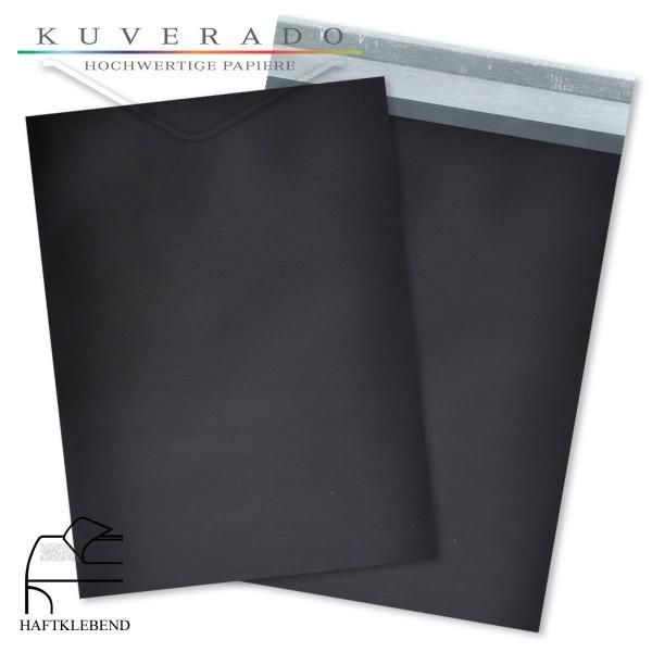 Schwarze Folienumschläge DIN C6