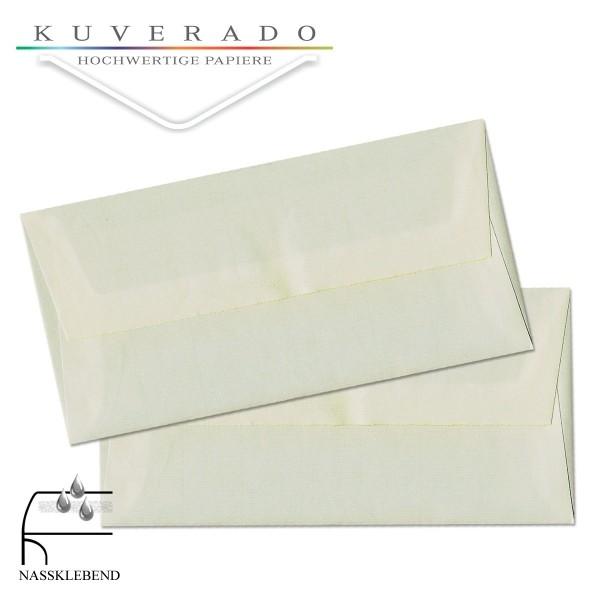 Briefumschläge aus Büttenpapier im Format DIN lang
