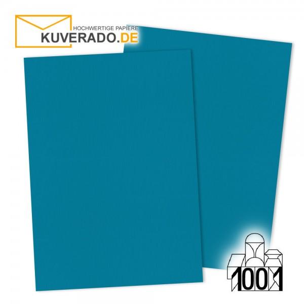 Artoz 1001 Briefpapier petrolblau DIN A4 mit Wasserzeichen