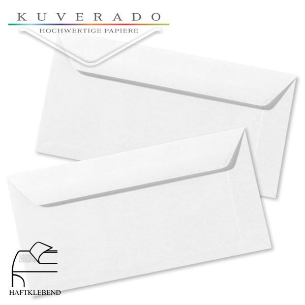 weiße Briefumschläge im Format DIN lang