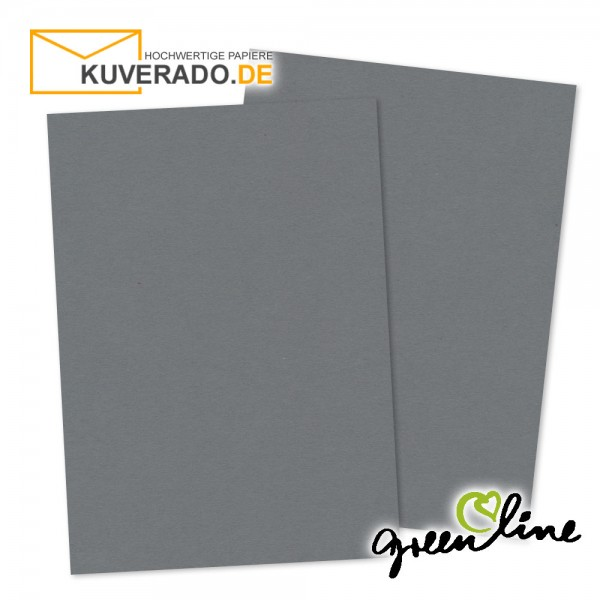 ARTOZ Greenline | Recycling Briefpapier in granit-grau DIN A4