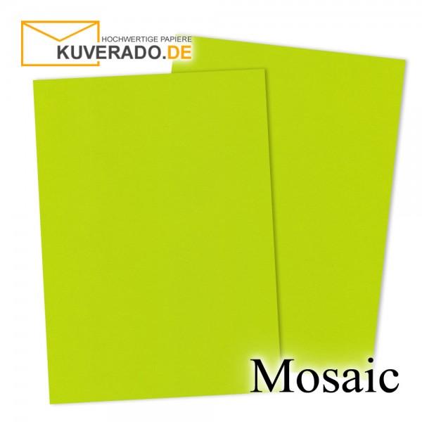 Artoz Mosaic neon-lime Karten DIN A7