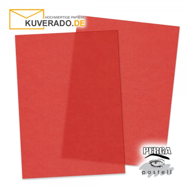 Artoz transparentes Briefpapier rot DIN A4