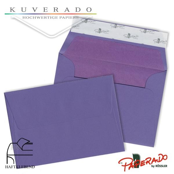 Paperado Briefumschläge lila DIN B6