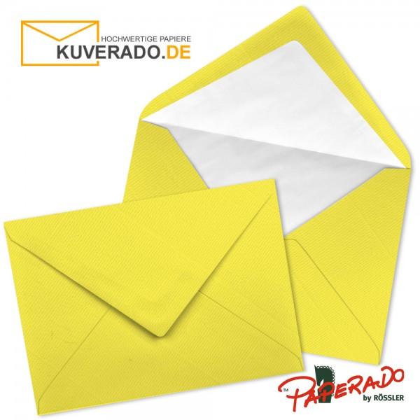 Paperado Briefumschläge in soleilgelb DIN C7
