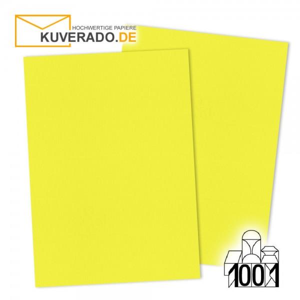 Artoz 1001 Briefpapier maisgelb DIN A4 mit Wasserzeichen