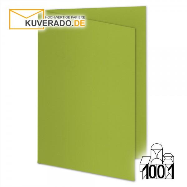 Artoz 1001 Faltkarten bamboo-green DIN A6 mit Wasserzeichen