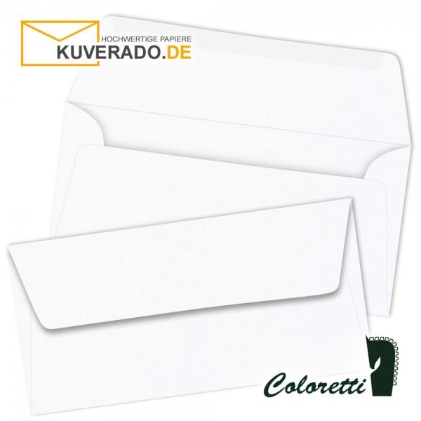 Weiße DIN lang Briefumschläge von Coloretti