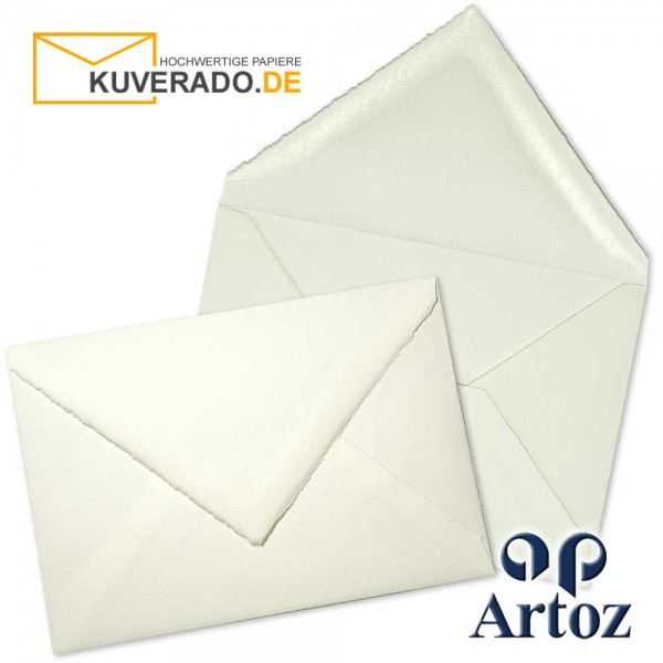 ARTOZ Rondo - Briefumschläge aus Büttenpapier im Format DIN C5