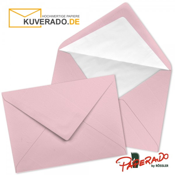 Paperado Briefumschläge in flamingo rosa DIN C6