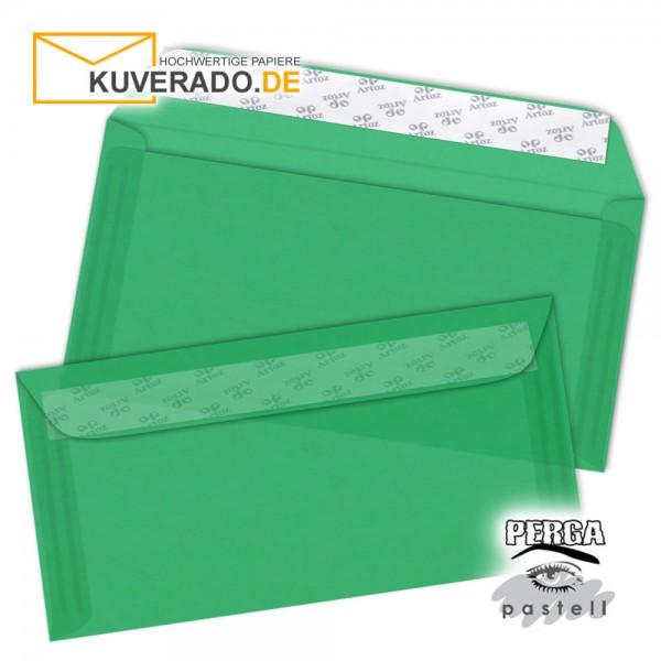 Artoz transparente Briefumschläge tannengrün 114x224 mm