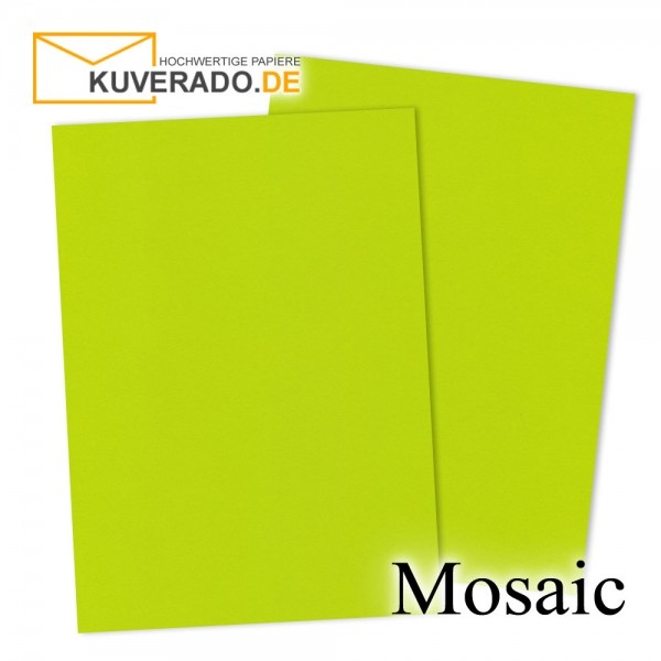 Artoz Mosaic neon-lime Briefkarton DIN A4