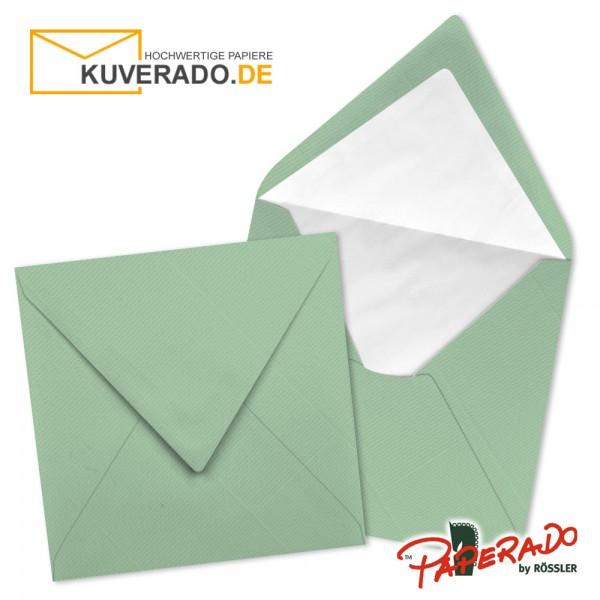 Paperado quadratische Briefumschläge in mint 164x164 mm