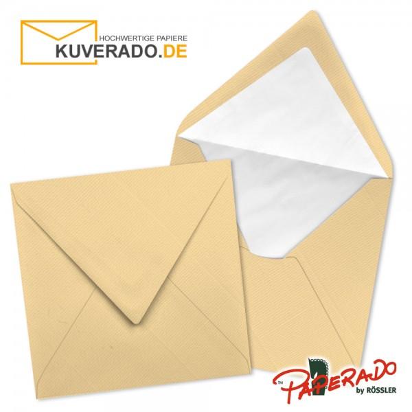 Paperado quadratische Briefumschläge in orange 164x164 mm