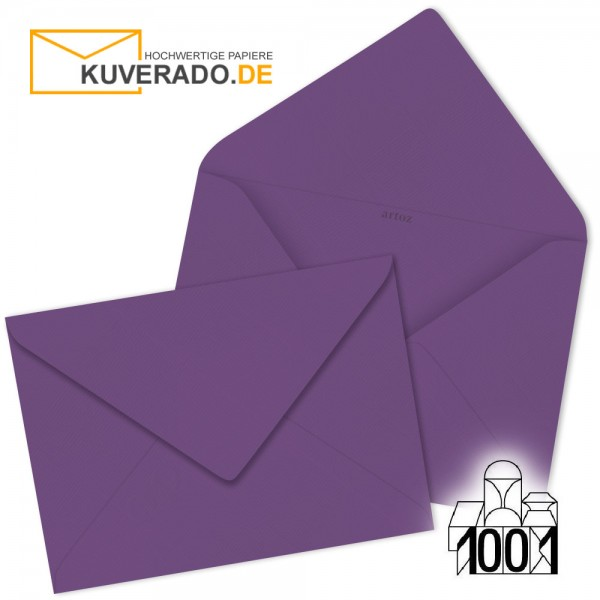 Artoz Briefumschläge violett 135x191 mm