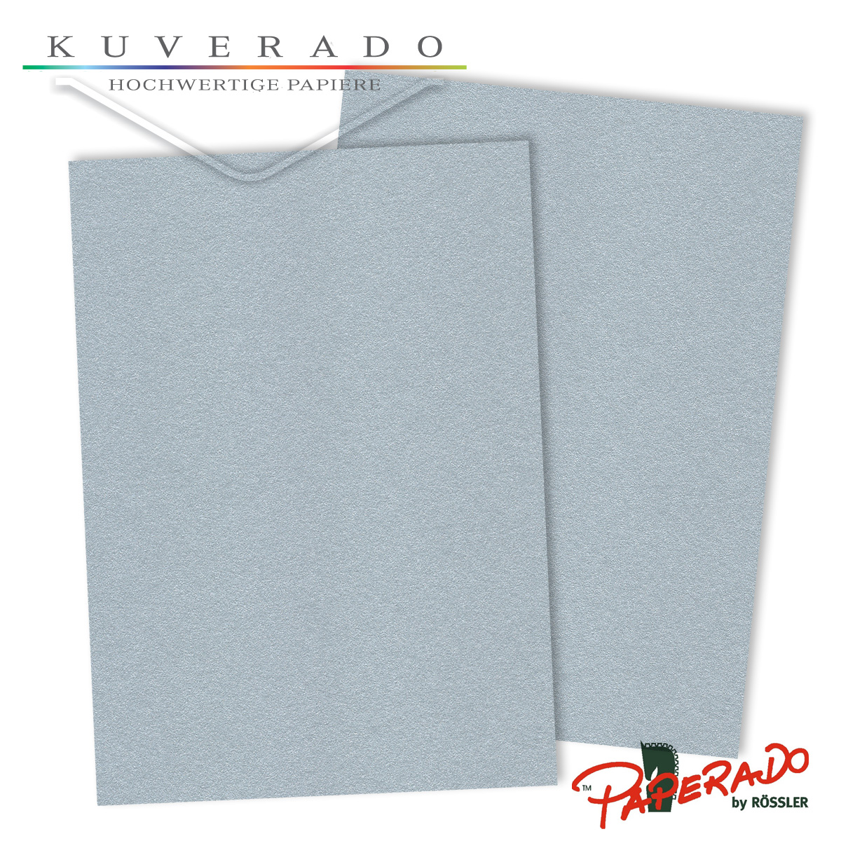 Briefpapier Paperado DIN A4 220 Silber
