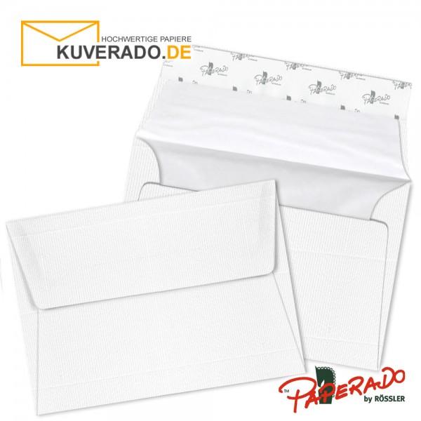 Paperado Briefumschläge weiß C6