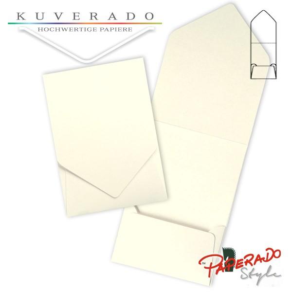 PAPERADO Style - Aufklappkarte in ivory beige