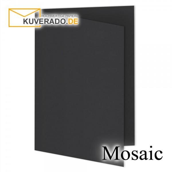 Artoz Mosaic schwarze Doppelkarten DIN A5