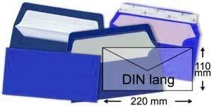 110x220 mm (DIN lang)   blau
