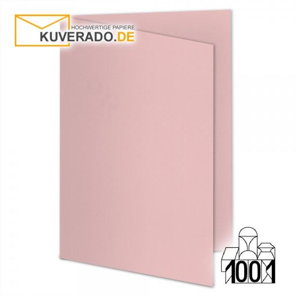 Artoz Doppelkarten pink DIN A6 mit Wasserzeichen