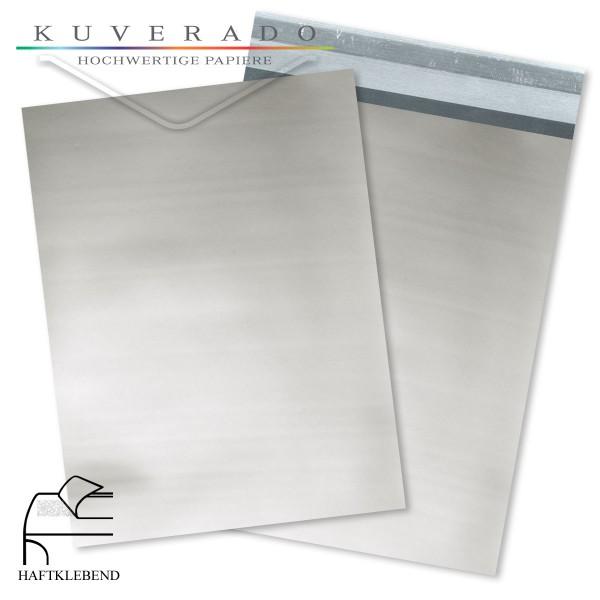Silberne Folienumschläge metallic DIN C5