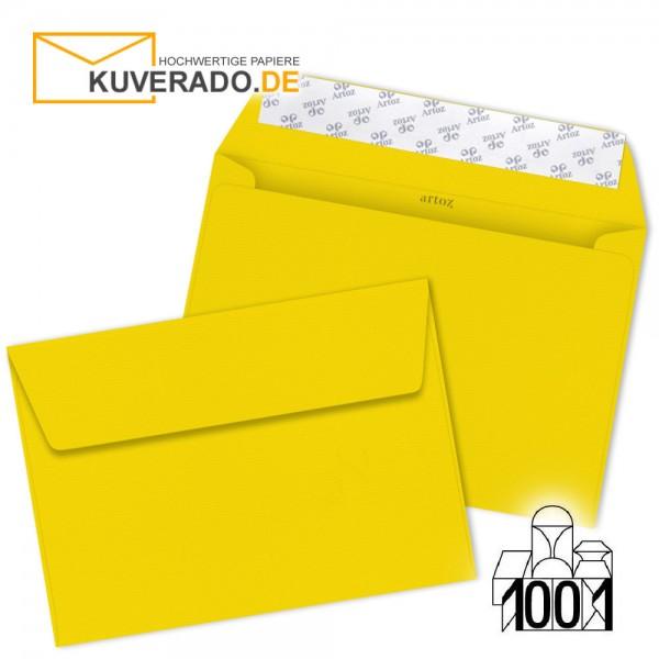 Artoz 1001 Briefumschläge sonnengelb DIN C6