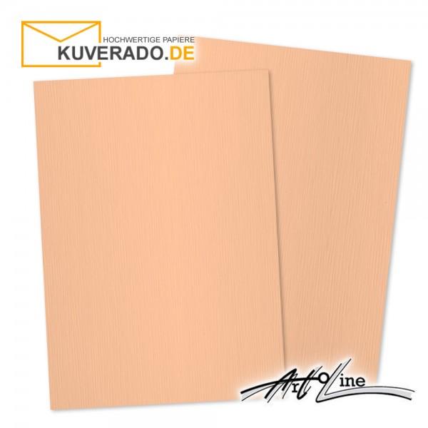 Artoz Artoline Briefpapier/Tonkarton in salm-rosa DIN A4