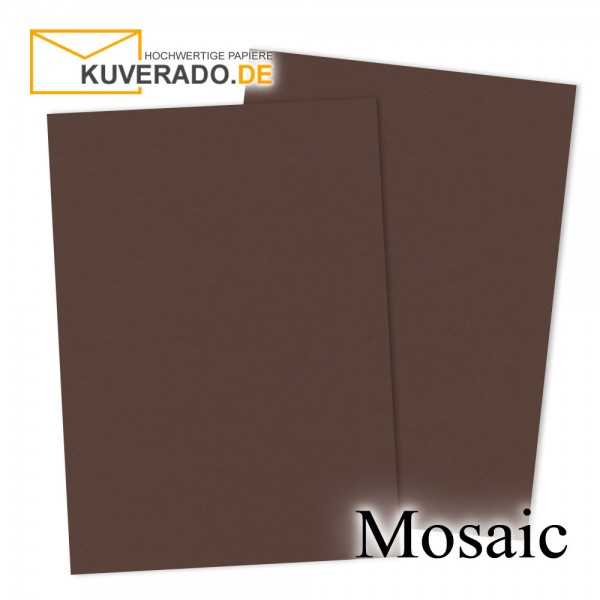 Artoz Mosaic dunkelbrauner Briefkarton DIN A4