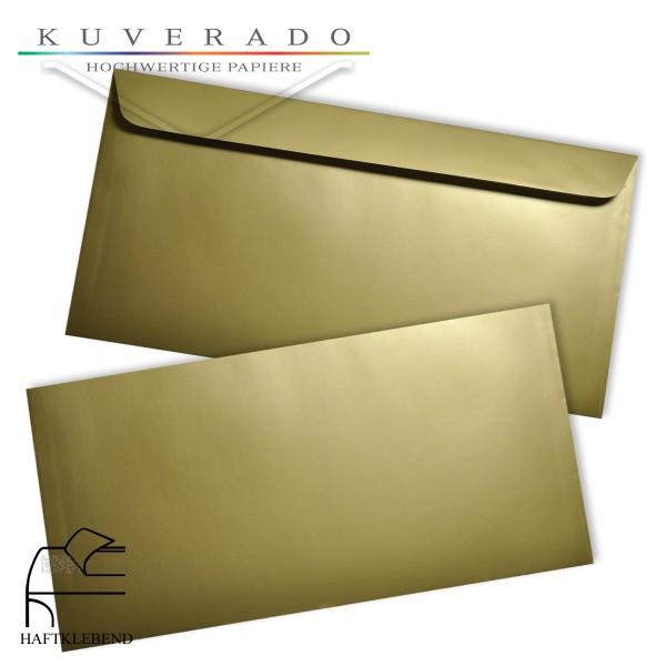 goldene Briefumschläge DIN C6/5