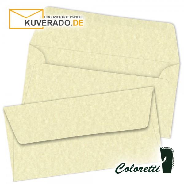 Beige marmorierte DIN lang Briefumschläge von Coloretti