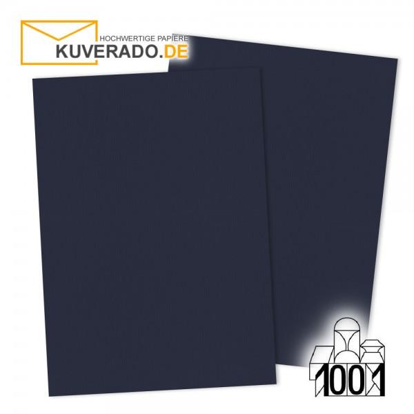 Artoz 1001 Briefkarton navy-blau DIN A4 mit Wasserzeichen