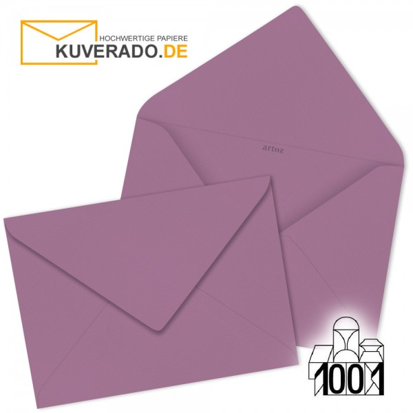 Artoz 1001 Briefumschläge holunder-lila DIN B6