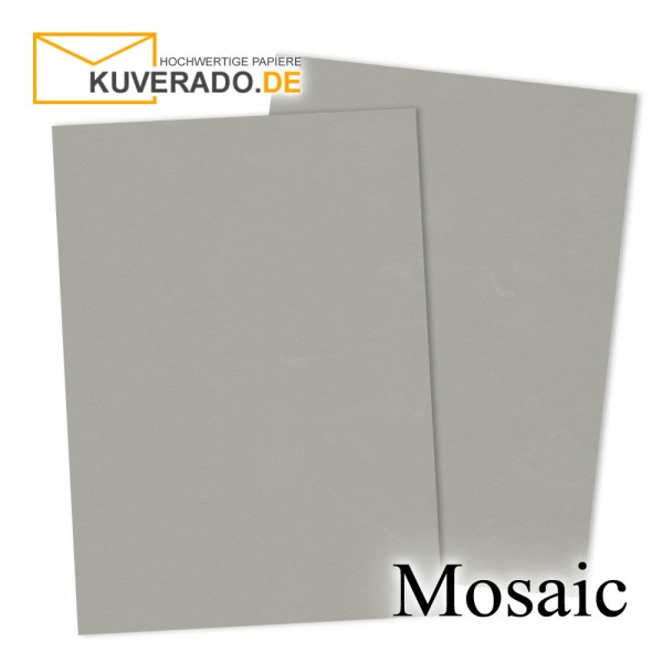 Artoz Mosaic zementgraue Karten DIN A7