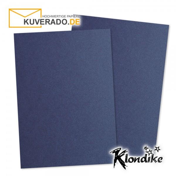 Artoz Klondike Briefpapier in saphir-blau-metallic DIN A4